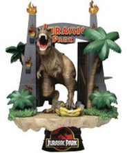 Beast Kingdom Jurassic Park Park Gate D-State Diorama