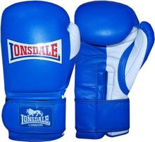 LONSDALE Sparringhandskar Pro Safe blå 14oz