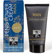 Shiatsu Penis Power Cream For Men