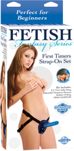 Ff First Timers Strap-On Set - Blue