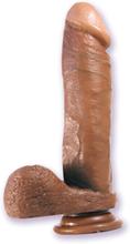 Realistic Cock 8 Inch Mulatto