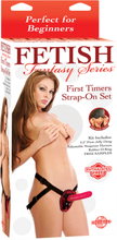 Ff First Timers Strap-On Set - Red