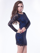 R78413 Beaded Lace Dress