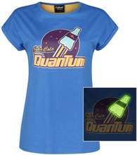 Fallout - Nuka Cola Quantum -T-skjorte - blå, gul