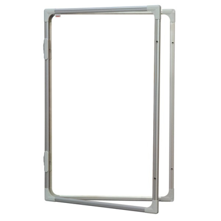 Opslagstavle skab Whiteboard 600x900mm