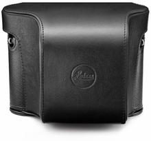 Leica Beredskapsväska i svart läder, Q & Q-P