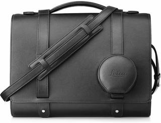 Leica Systemväska i svart läder, Q & Q-P