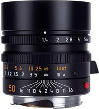 Leica Summilux-M 50 mm f/1,4 ASPH svart