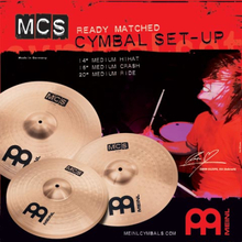 Meinl MCS141620 cymbalpack