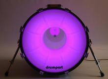 Drumport - Megaport och Glowport (22, Glowport sound2light)