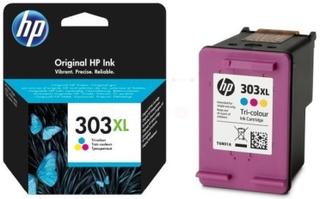 HP HP 303XL Blækpatron 3-i-én farve, 415 sider