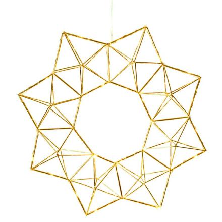 Edge Star Messing Stjerne - Lampan