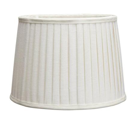 Sofia Plissè Offwhite 25 cm Lampeskærm - Lampan