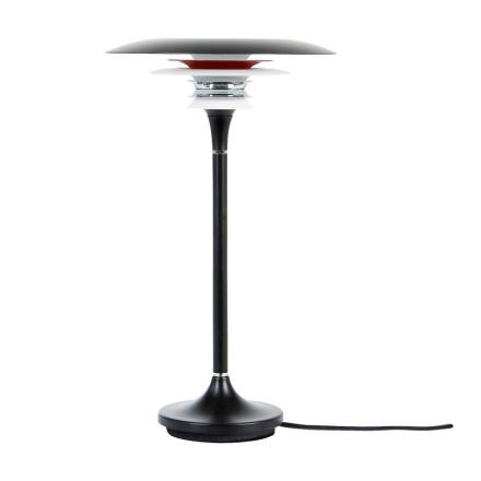 Diablo Sort/Rød Bordlampe - Lampan