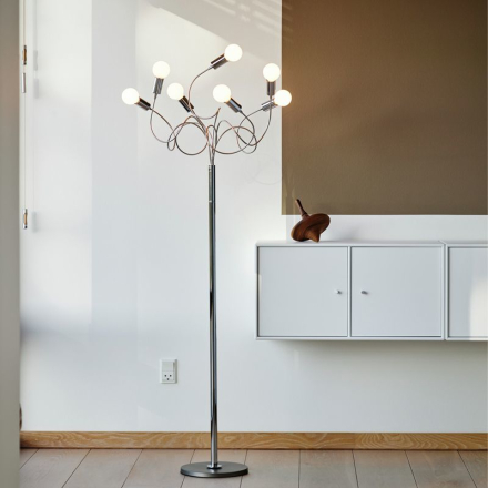 String 7 Snowball LED Gulvlampe - Lampan