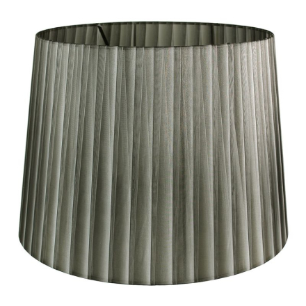 Skærm Pendel/Gulv 50 cm Grå/Sort - Lampan