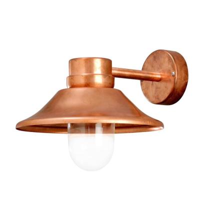 Vega Kobber LED Ude Væglampe - Lampan