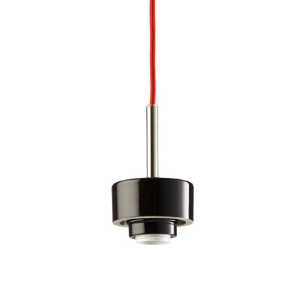 Smycka Sort/Rød Pendel - Lampan