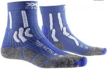 X-Socks wandelsokken Trex X Junior katoen blauw