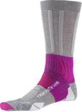 X-Socks wandelsokken Trek Path nylon grijs/paars