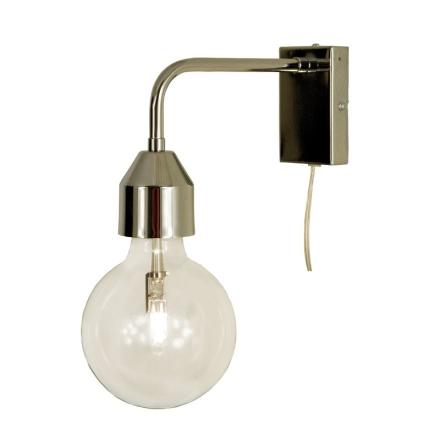 Flynn Krom Væglampe - Lampan