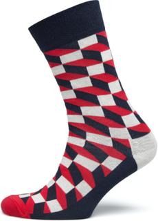 Filled Optic Sock Underwear Socks Regular Socks Multi/mønstret Happy Socks