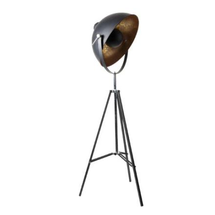 Captain Sort 170 cm Gulvlampe - Lampan