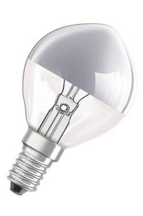 Decor Sølv Krone 40W E14 - Lampan