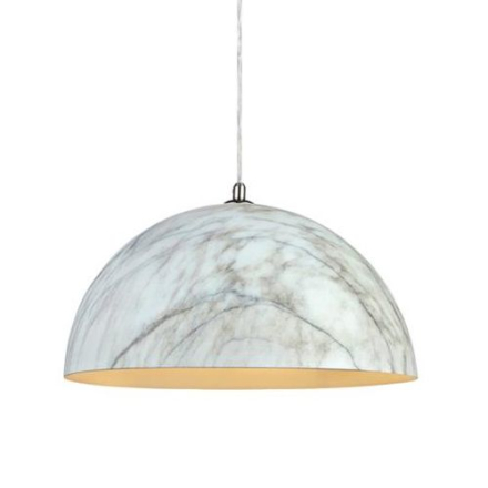 Rock Hvid/Marmor Loftlampe - Lampan