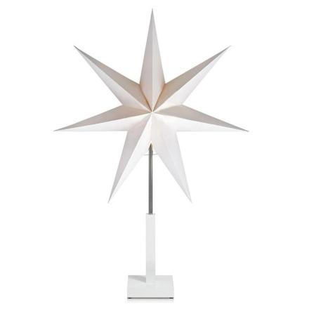 Duva Hvid Bordstjerne 75 cm - Lampan