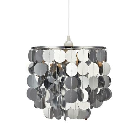 Zumba Sølv Loftlampe - Lampan