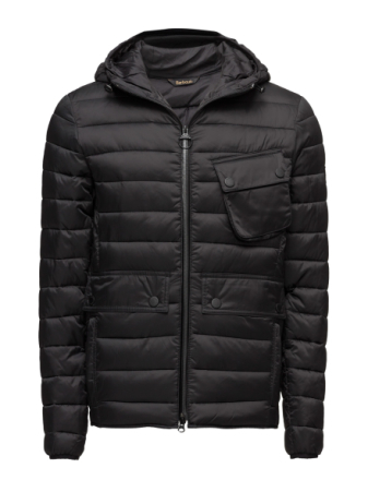 B.Intl Ouston Hooded Quilt (Sl)