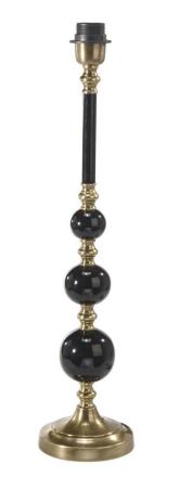 Abbey Sort/Antik 60 cm Lampefod - Lampan