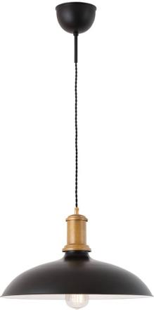 Kavaljer Sort/Rå messing Loftlampe - Lampan