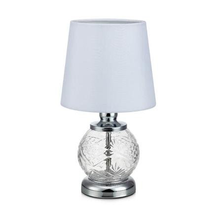 Salong Krom/Hvid Bordlampe - Lampan