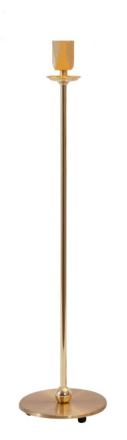 Uno Messing 39 cm Lampefod - Lampan