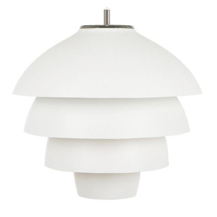 Valencia Hvid 42 cm Loftlampe - Lampan