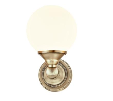 Lugano Antik Ip44 Væglampe - Lampan