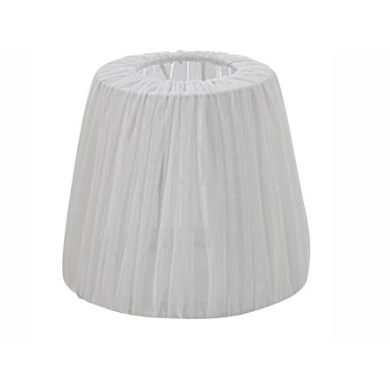 Linn Hør/Hvid 20 cm Skærm - Lampan