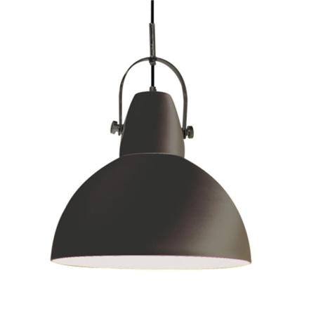 Hoop Sort 38 cm Loftlampe - Lampan