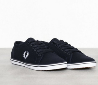 Fred Perry Kingston Twill Sneakers navy/white
