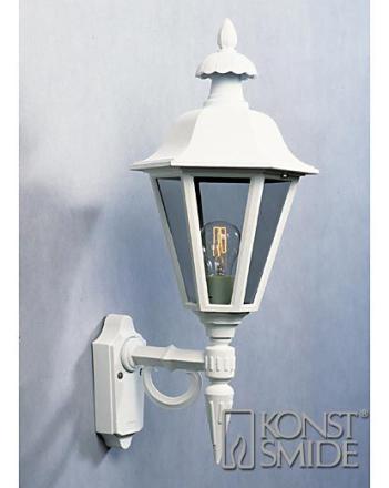 Pallas Hvid Op Væglygte - Lampan