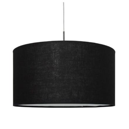 Pop Sort Hør 57 cm Loftlampe - Lampan