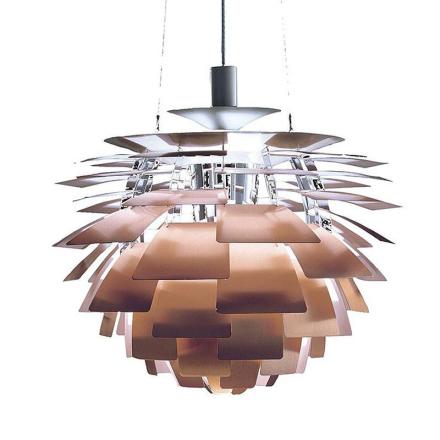 Ph Artichoke Kobber 48cm Loftlampe - Lampan