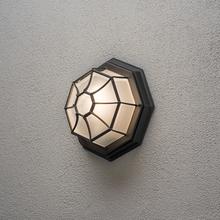 Plafond Konstsmide Vägglykta E27 Svart