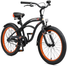 BIKESTAR® Premium Design Lasten polkupyörä 20'', musta
