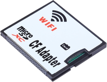 WiFi MicroSD til CF Adapter