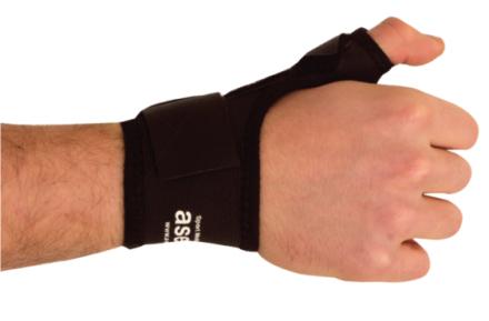 Aserve Håndledsbandage (Inkl. Tommelskinne)