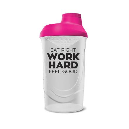 BodyLab Shaker Bottle (BPA-fri) Rosa