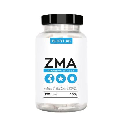BodyLab ZMA Zink - Magnesium & B6 Vitamin (120 st)